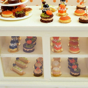 Black Religieuse for Halloween - 12th Scale French Miniature Food