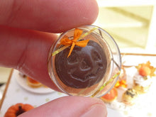 Load image into Gallery viewer, Chocolate Jack O'Lantern - Halloween / Fall / Autumn - 12th Scale Miniature Food