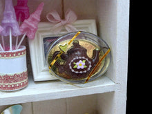 Load image into Gallery viewer, Chocolate Teapot Gift Box - 12th Scale Dollhouse Miniature Food