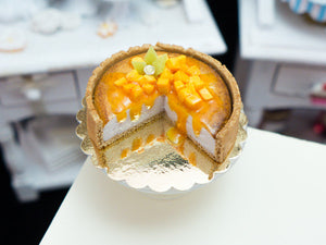 Mango Cheesecake - 12th Scale Miniature Food