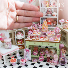 Load image into Gallery viewer, Shades of Pink Parisian Macaroons - Handmade Miniature Food in 12th Scale