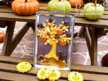 Load image into Gallery viewer, Autumn Cookie Tree on Baking Sheet - 12th Scale Miniature Food