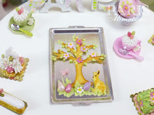 Load image into Gallery viewer, Spring Tree Cookie on Baking Sheet - Miniature Food in 12th Scale for Dollhouse