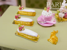 Load image into Gallery viewer, Easter French Eclair - 12th Scale Miniature Food