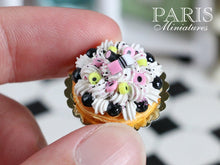 Load image into Gallery viewer, Liquorice Allsorts St Honoré (French Pastry, English Candy) - Miniature Food