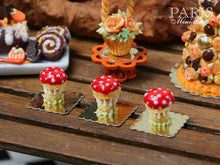 Load image into Gallery viewer, Fantasy Toadstool Religieuse for Autumn/Fall - Miniature Food
