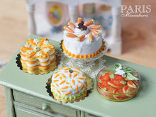 Load image into Gallery viewer, Box of Easter 'Carrot' Cookies - Miniature Food in 12th Scale for Dollhouse