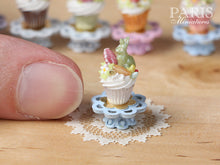 "Load image into Gallery viewer, Easter ""Showstopper Cupcake (E) - Green Candy Rabbit, Carrot, Egg"