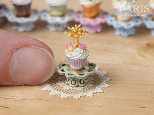"Easter ""Showstopper Cupcake (G) - Tree in Leaf, Butterfly, Blossom"