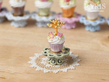 "Load image into Gallery viewer, Easter ""Showstopper Cupcake (G) - Tree in Leaf, Butterfly, Blossom"