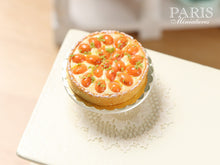 Load image into Gallery viewer, French Apricot Tart (Tarte aux abricots) - Miniature Food