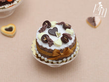 Load image into Gallery viewer, French Chocolate Cake - Miniature Food in 12th Scale for Dollhouse