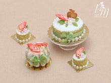 Load image into Gallery viewer, French Apple Charlotte - Miniature Food in 12th Scale for Dollhouse