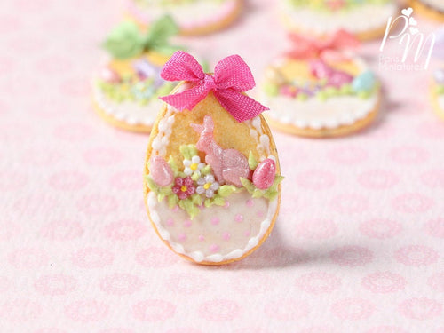 Easter Egg Shortbread Sablé