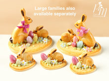 Load image into Gallery viewer, Easter Cookie Baby Bunny Rabbit, Eggs and Blossom - Individual Pastry
