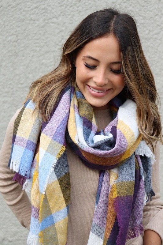 October Skies Blanket Scarf