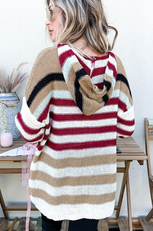 Caramel Apple Hooded Sweater