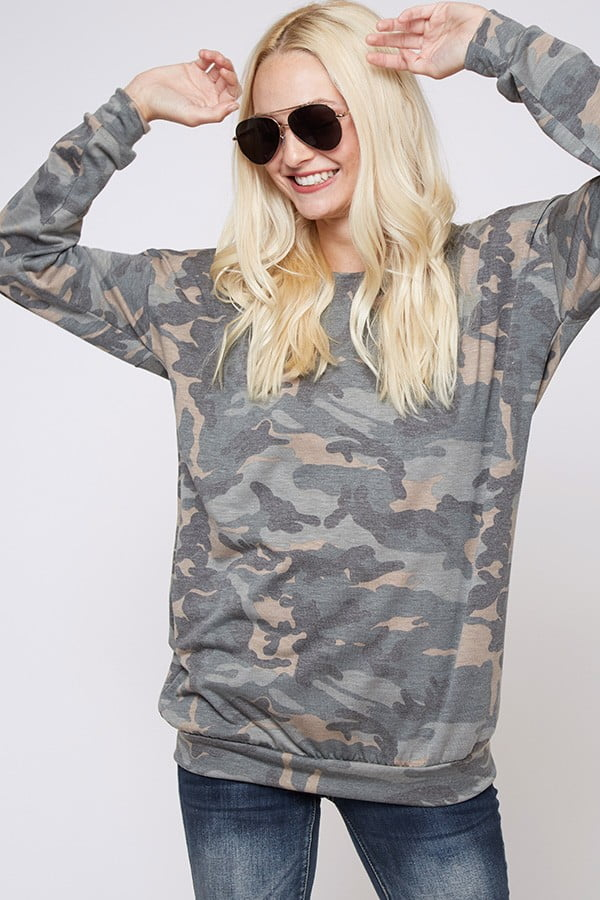 Corporal Camo Top Front