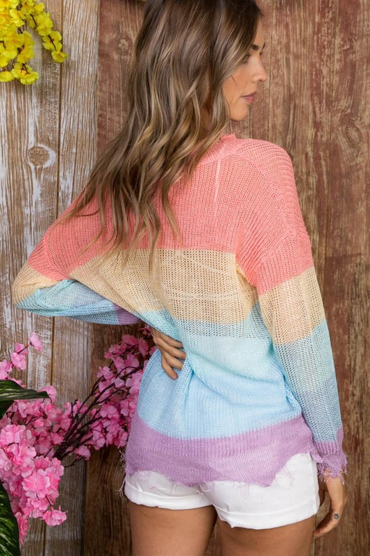 Endless Harmony Sweater Back