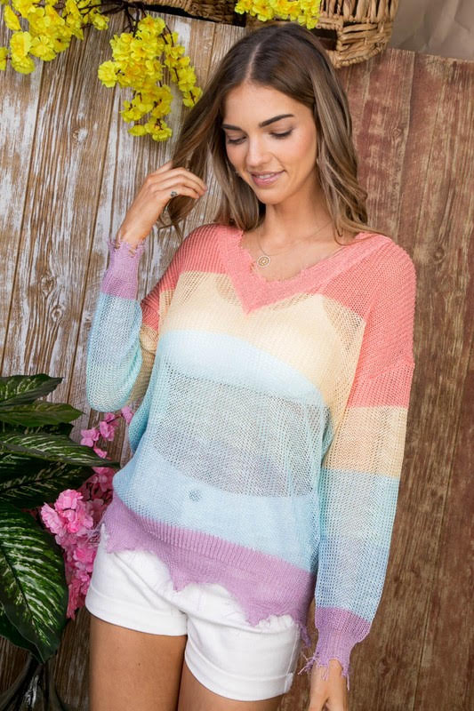 Endless Harmony Sweater Front
