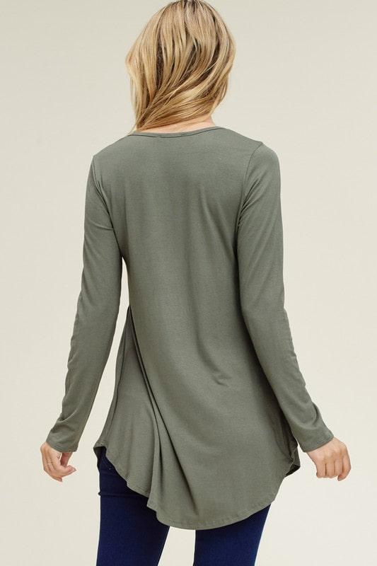 Hidden Valley Long Sleeve Top Back