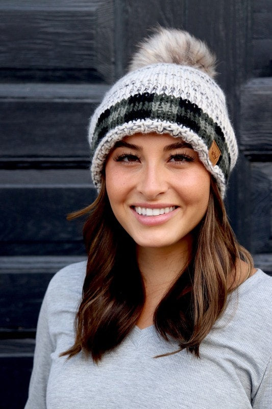 Hitting the Target Knit Beanie
