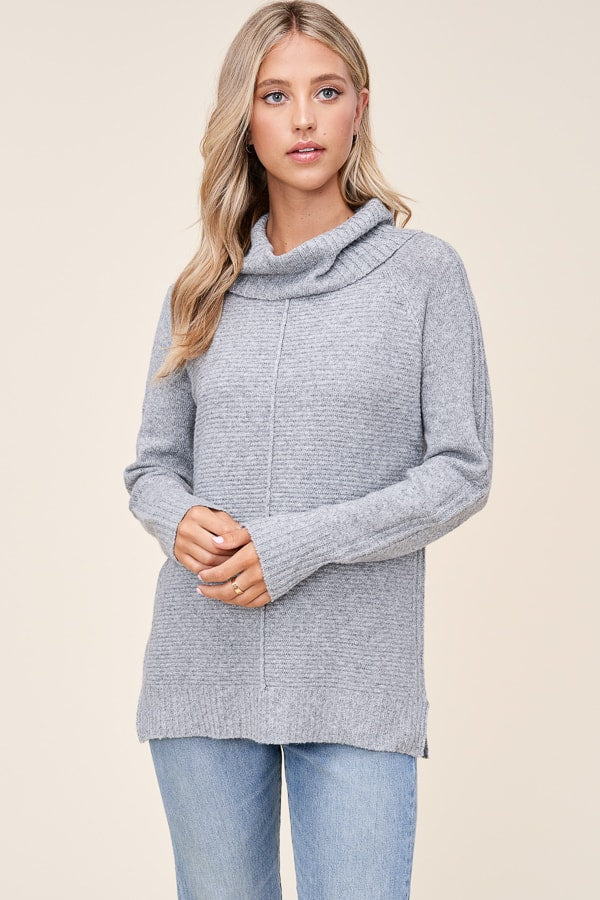 Lunar Rock Cowl Neck Sweater