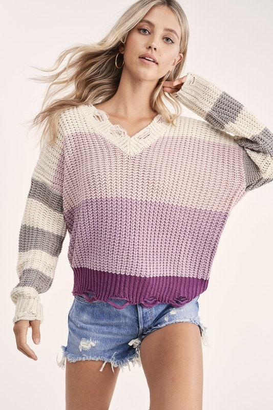 Plum Perfection Sweater