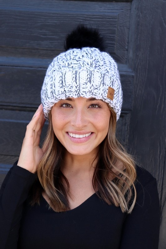 Salt and Pepper Beanie