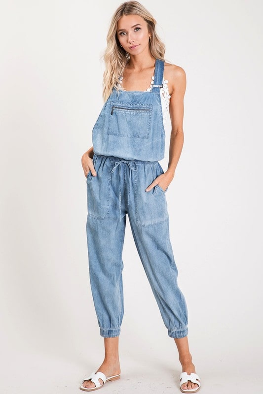 Savannah Zippered Overalls