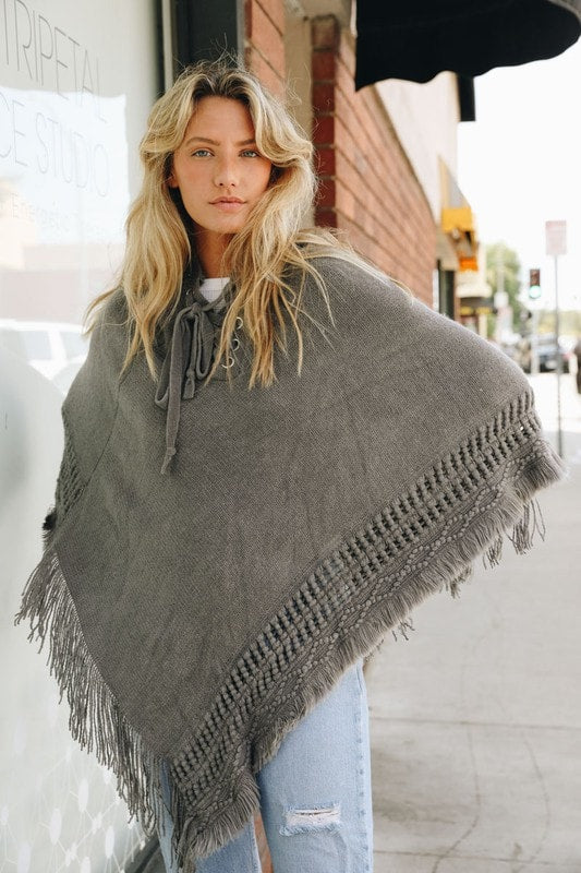 Set in Stone Poncho