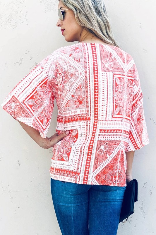 Social Butterfly Top