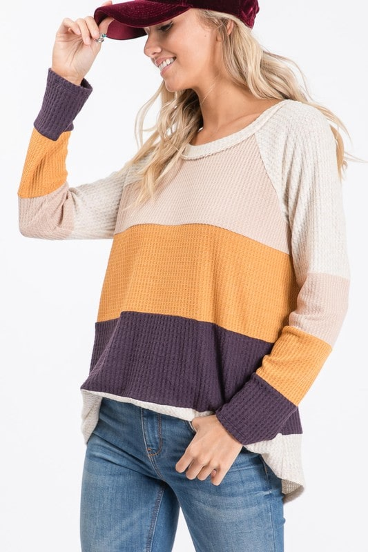 Sugar & Spice Long Sleeve Top