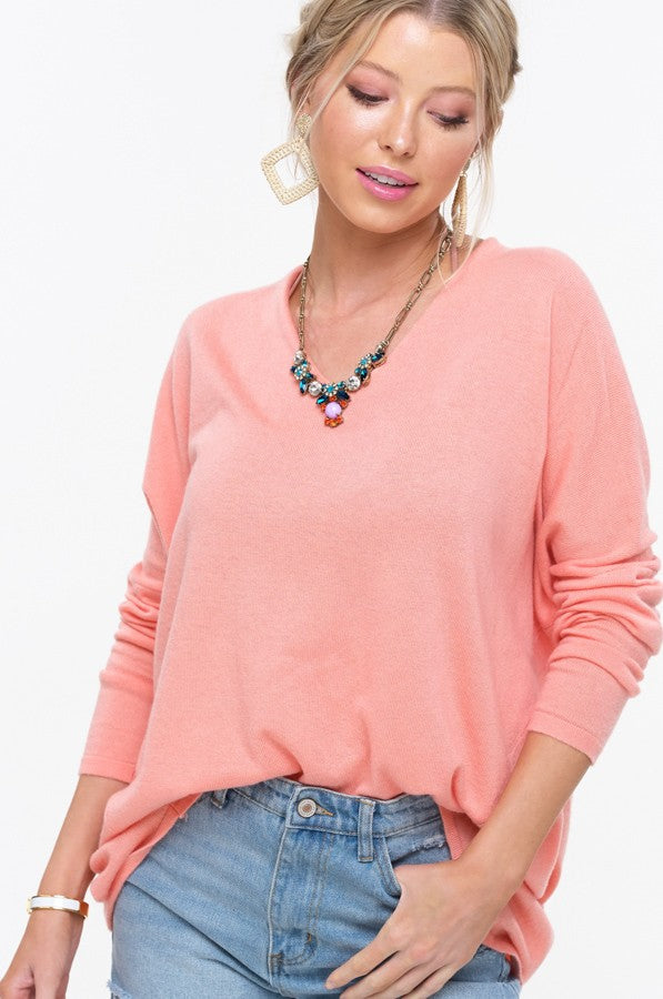 Sweet Moments Sweater Top Front