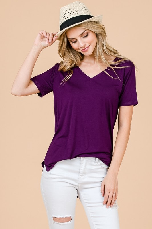 Sweet Tee - Purple