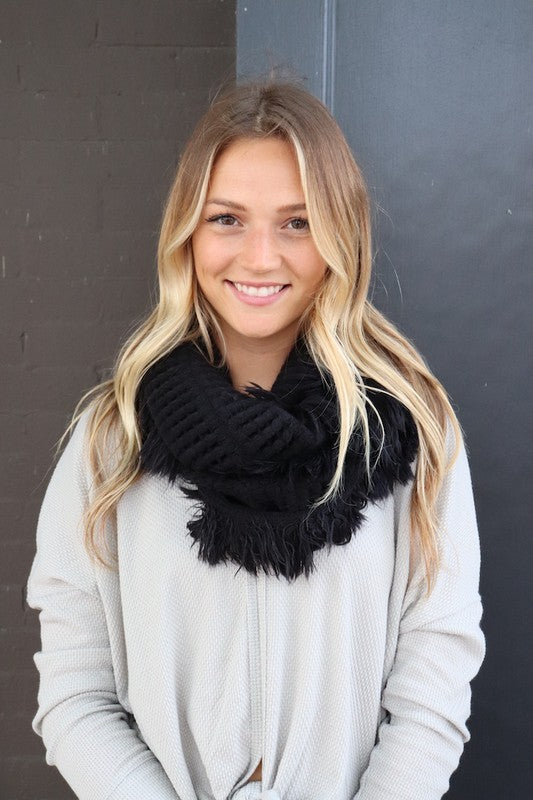 Sweet and Sassy Infinity Scarf
