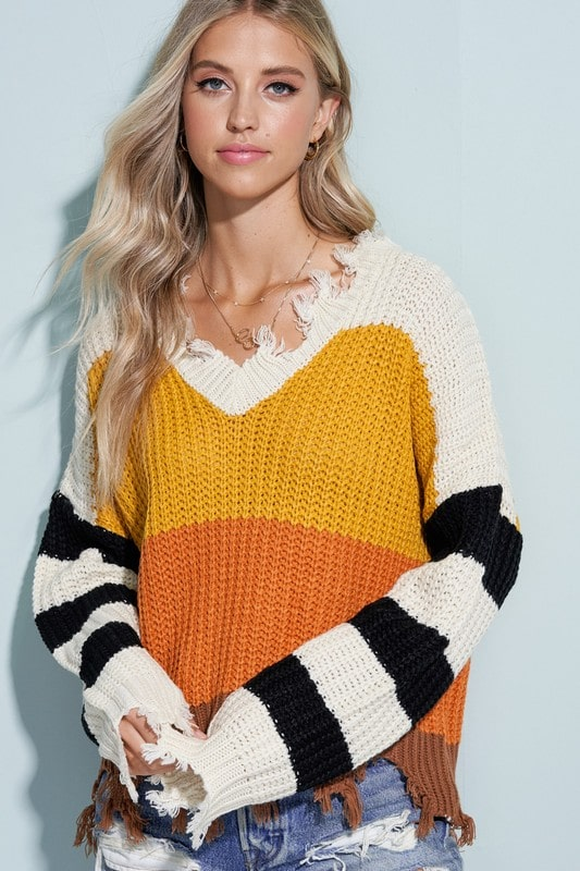 Women's top - Treat Yo' Self Sweater