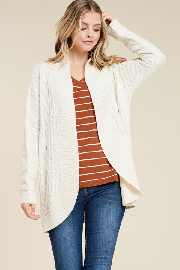 Urban Chic Knit Cardigan