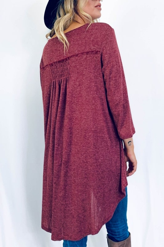 Very Berry Tunic Top