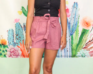 Fan Club Shorts MULBERRY