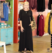 Load image into Gallery viewer, Closet Staple Maxi Dress BLACK