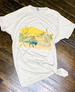 Indian Buffalo Desert Graphic Tee