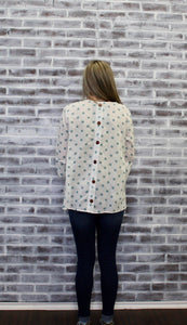 Dottie Polka dot Blouse