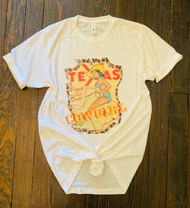Texas Cowgirl Graphic Tee