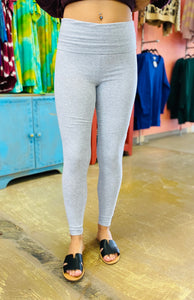 Legendary Leggings HEATHER GREY