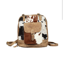 Load image into Gallery viewer, Leather Pocket Backpack Bag