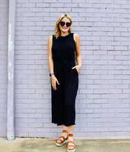 Load image into Gallery viewer, Baldwin Jumpsuit BLACK