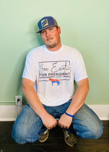 Joe Exotic for President Graphic Tee