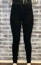 Load image into Gallery viewer, KanCan Black High Rise Skinny
