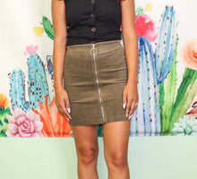 Load image into Gallery viewer, So In Love Skirt OLIVE
